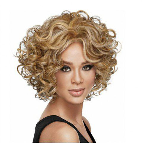 Fashion Ladies Fashion Short Curly Wig