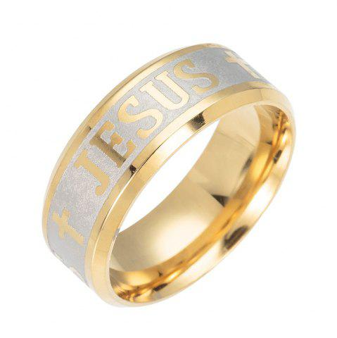 Online Cross Religious Wind Stainless Steel Corrosion Ring
