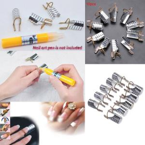 5PCS Women's Beauty Reusable UV Gel Acrylic Tips Nail Art Extension Guide Form Tool -