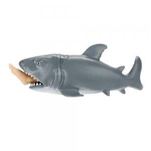Funny Toy Shark Squeeze Stress Ball Alternative Humorous 12cm -