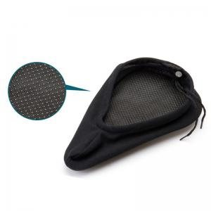 Bike Seat Thickened Comfortable Silicone Saddle Cushion Cover -