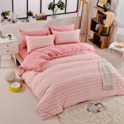 Thickened Suede Cotton Four-Piece Bedding -
