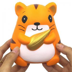 Slow Rising Stress Relief Toy Made By Enviromental PU Replica Hamster Holding Corn -