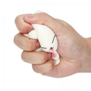 Slow Rising Stress Relief Toy Made By Enviromental PU Replica Cartoon Cat -