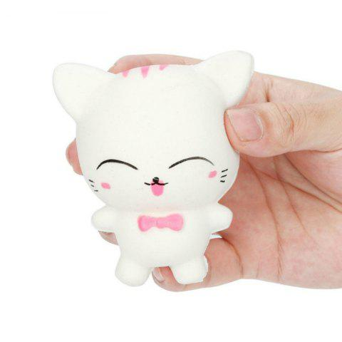 Affordable Slow Rising Stress Relief Toy Made By Enviromental PU Replica Cartoon Cat
