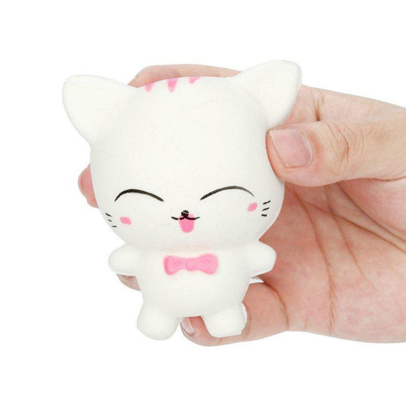 Affordable Jumbo Squishy Slow Rising Stress Relief Toy Made By Enviromental PU Replica Cartoon Cat