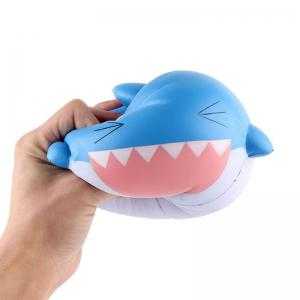 Slow Rising Stress Relief Toy Made By Enviromental PU Replica Cartoon Shark Head -