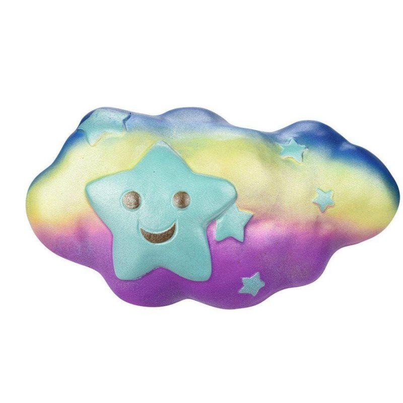 Online Jumbo Squishy Slow Rising Stress Relief Toy Made By Enviromental PU Replica Clouds