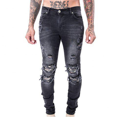 Cheap Spell Hole Trend Jeans
