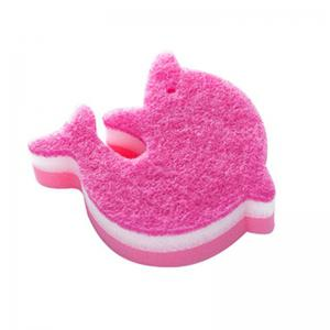 Dolphin Shape Kitchen Sponge Cleaning Cloth -