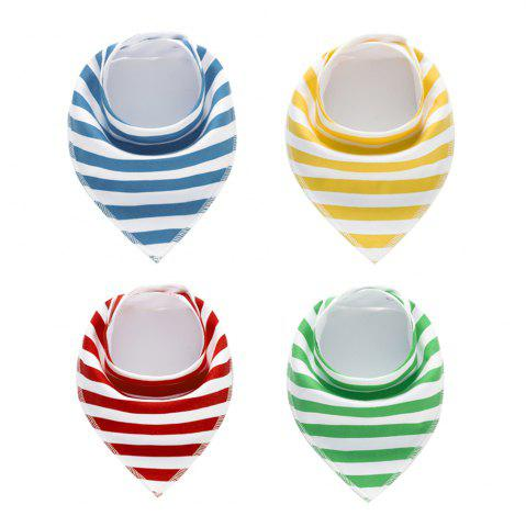 Fashion 4PCS Baby Bandana Drool Bibs Soft with 100 Percent Organic Cotton (F16)