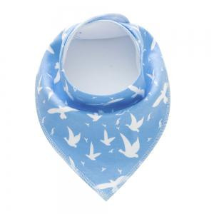 4PCS Baby Bandana Drool Bibs Soft with 100 Percent Organic Cotton (F25) -