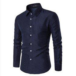 Spring and Summer Cotton Business Casual Fashion Shirt -