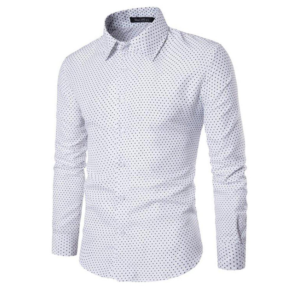 Fancy Spring and Summer Cotton Business Casual Fashion Shirt