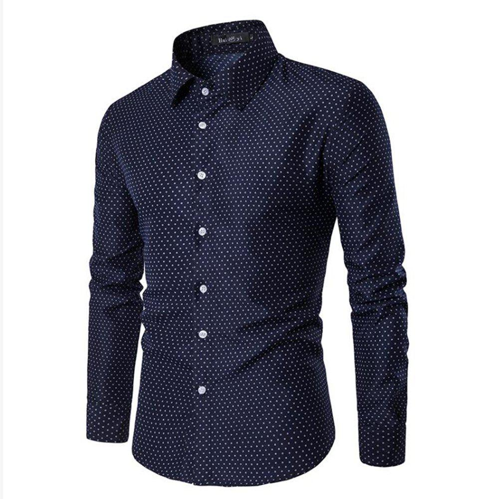 Latest Spring and Summer Cotton Business Casual Fashion Shirt