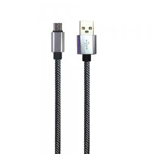 1METER Nylon Micro USB Cable for Samsung HTC Huawei Xiaomi Android Fast Charge Wire -