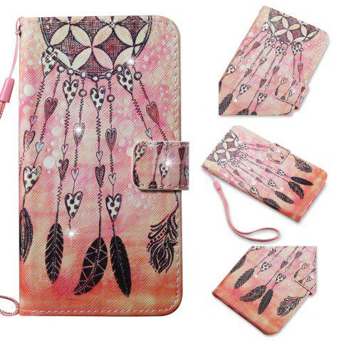 Affordable Cover Case for Samsung Galaxy S7 Edge Colourful Pattern Leather with Water Drill