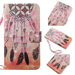 Cover Case for Samsung Galaxy S7 Edge Colourful Pattern Leather with Water Drill -