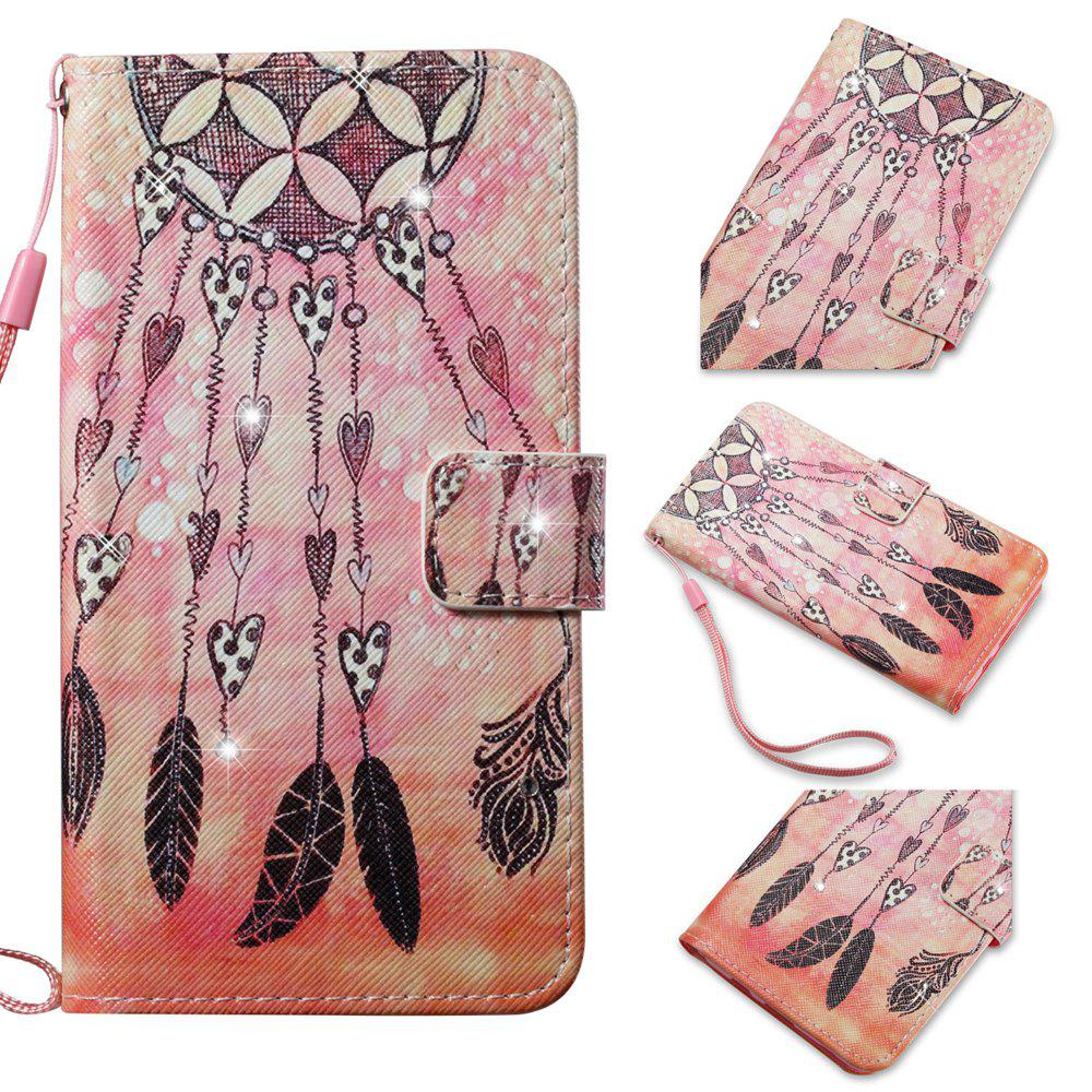 Чехол для Samsung Galaxy S7 Edge Colorful Pattern Leather with Water Drill