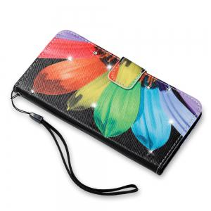 Чехол для Sony XA Colorful Pattern Leather with Water Drill -