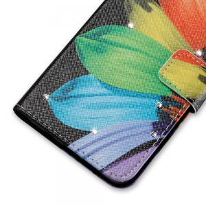 Cover Case for Sony XA Colourful Pattern Leather with Water Drill -