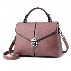 Women's Handbag Fresh Style Solid Color Zipper Elegant Bag -