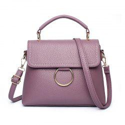 Women's Handbag Fresh Style Solid Color Ladylike Cover Bag -