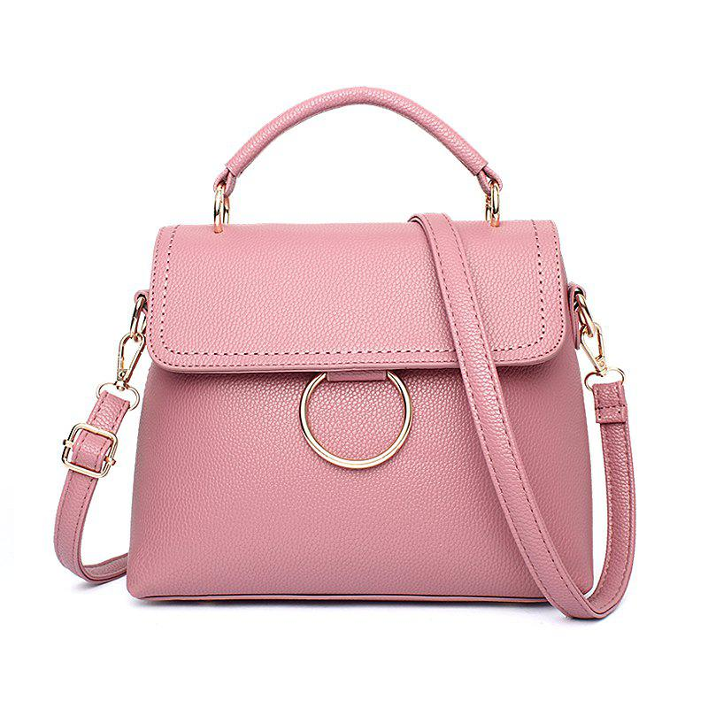 Outfits Women's Handbag Fresh Style Solid Color Ladylike Cover Bag