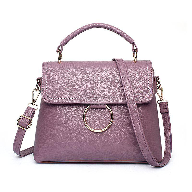 Best Women's Handbag Fresh Style Solid Color Ladylike Cover Bag