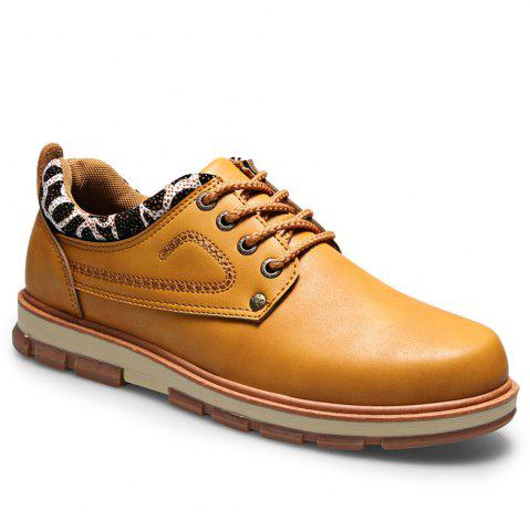 Latest Casual Lace Up Workers Fashion Shoes