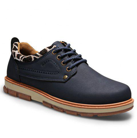 Cheap Casual Lace Up Workers Fashion Shoes