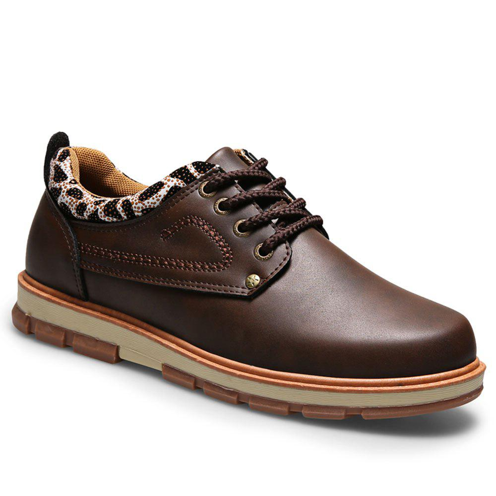 Hot Casual Lace Up Workers Fashion Shoes