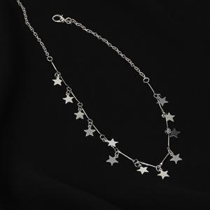 Star Clavicle Glitter Short Necklace Sweet Fresh Jewelry -