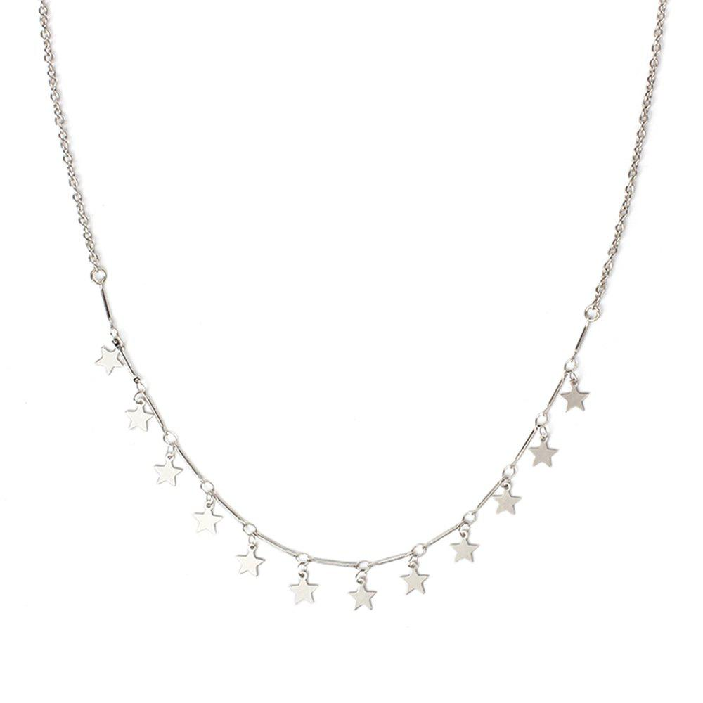 Buy Star Clavicle Glitter Short Necklace Sweet Fresh Jewelry