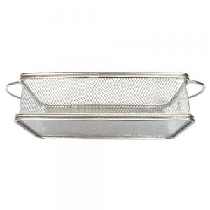 BBQ Bread Basket Fries Fried Chicken Fried Basket Stainless Steel Frying Basket Small Pastry Food -