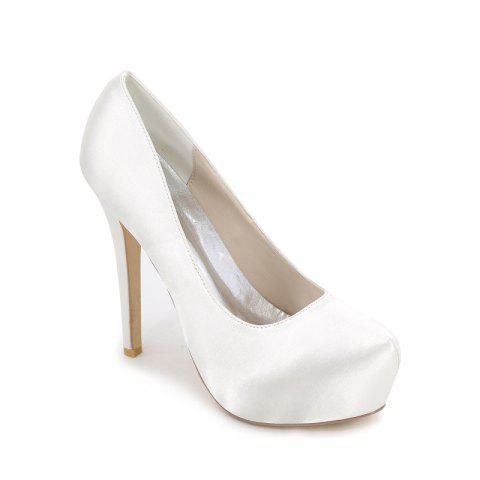 Fashion Fashion High Heel Waterproof Platform Wedding Shoes