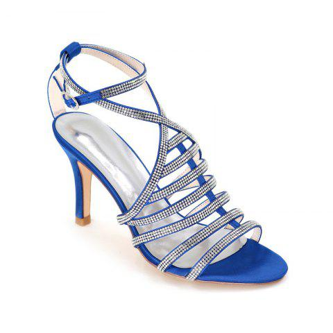 New High Heel Drill Sandal Wedding Shoes