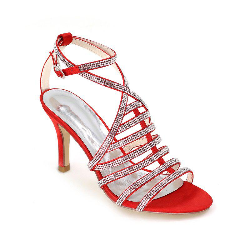 Sale High Heel Drill Sandal Wedding Shoes