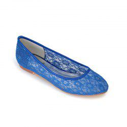 Flat Lace Wedding Shoes -