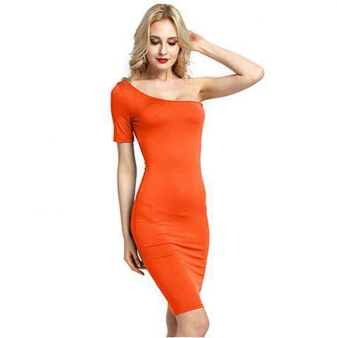 Store Women Sexy Bridesmaids Pencil Bandage Bodycon Long Sleeve Evening Cocktail Dress