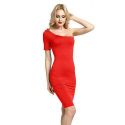 Women Sexy Bridesmaids Pencil Bandage Bodycon Long Sleeve Evening Cocktail Dress -