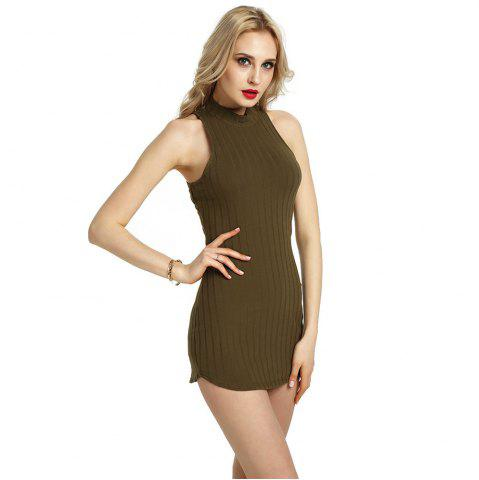 Summer Sexy Femmes Bandage Soirée Cocktail Party Club Mini Robe courte