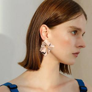 Creative Design Metal Irregular Geometry Earrings -
