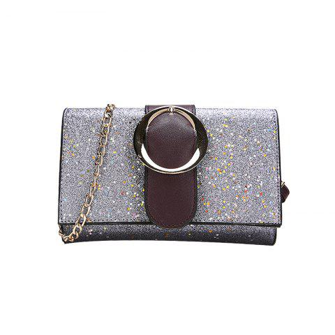 New Sequin Fashion Simple Shoulder Messenger Bag