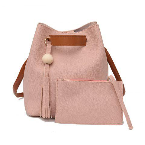 New Two Pieces of Trendy Simple Tassel Shoulder Messenger Bag