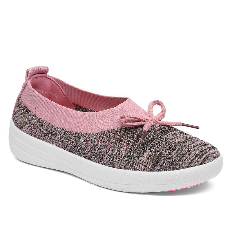 Outfits Solid Colors Slip On Breathable Casual Fashion Shallow Mouth Flat Shoes