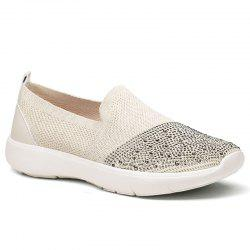 Casual Shoes Female Spring Lady Breathing Air Grid Casual Fashion Women Flat Shoes -