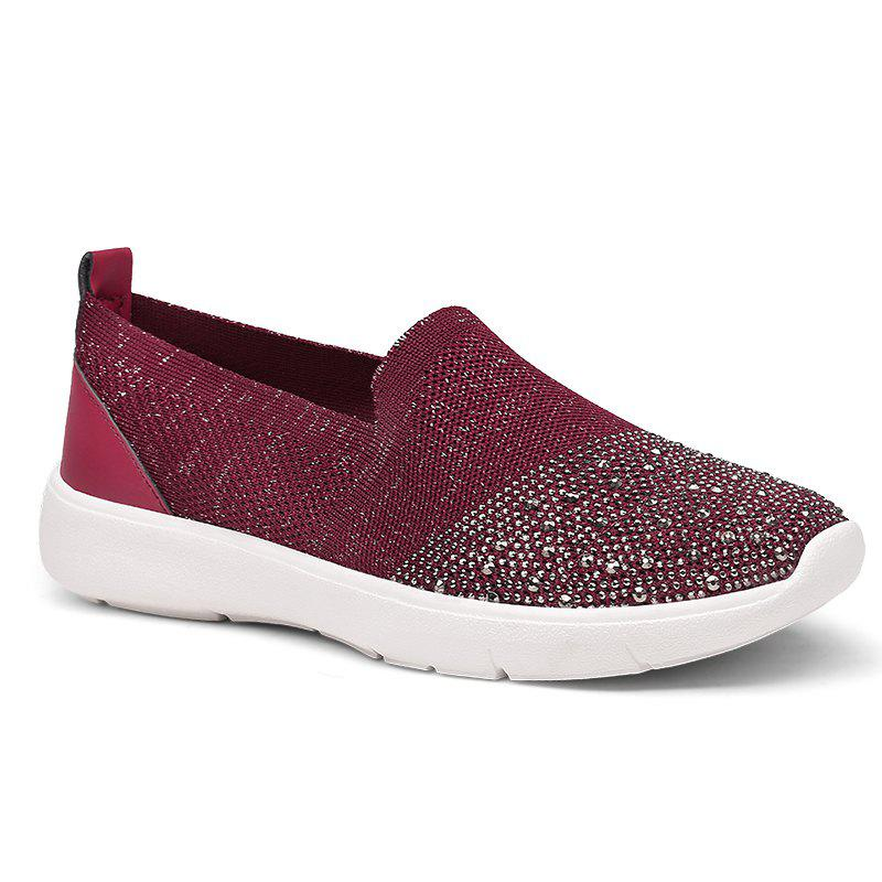 Shops Casual Shoes Female Spring Lady Breathing Air Grid Casual Fashion Women Flat Shoes