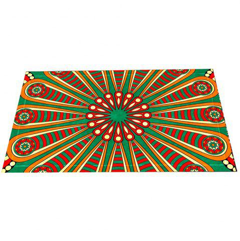 Store Colourful European Style Retro Pattern Mat