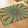 Colourful  Antique Lines  Auspicious Rug Mats -